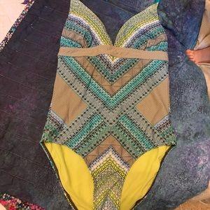 Prana One piece bathing suit